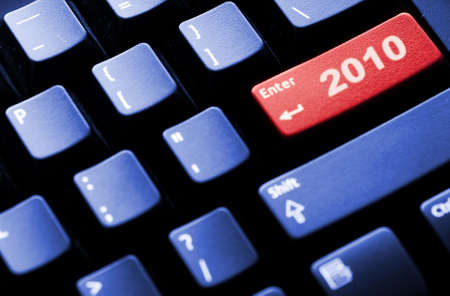 New Year 2010 business conceptual image photo