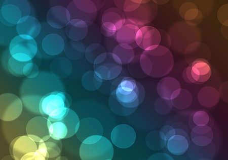 pallino: Sfondo astratto illustrazione con luci colorate notte della citt�  Archivio Fotografico