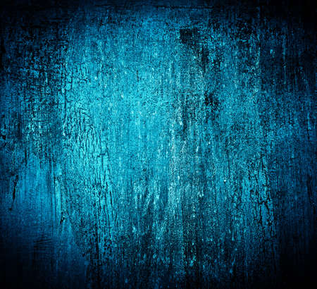 Blue abstract textured cracked grungy design backdrop Stock Photo - 6668825