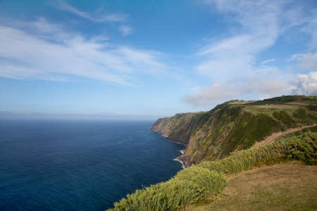 Ocean colorful view from Azores Islands, Portugal Stock Photo - 13442023