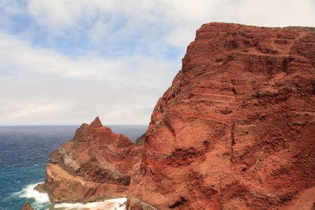 volcanic: Volcanic rocks from Capelinhos, Faial Island, Azores