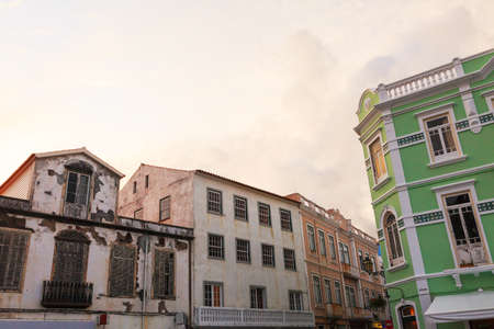 historic buildings: Old historic buildings in Azores Islands, Portugal
