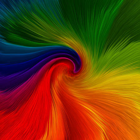 artistic background: Abstract artistic background of twirl vibrant colors
