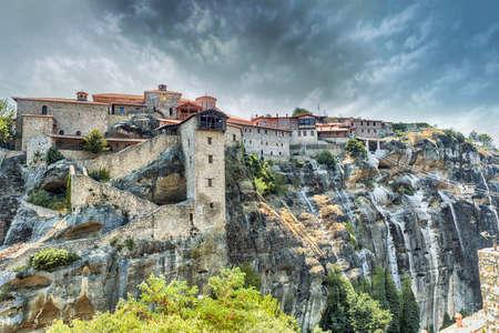 thessalia: Grand Meteoro old monastery at Meteora, Greece
