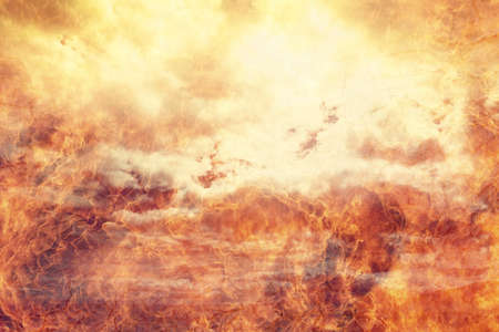 Hell fire flames abstract design background Stock Photo - 96837058