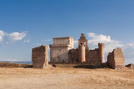 The castle of Turegano in Segovia, Spain