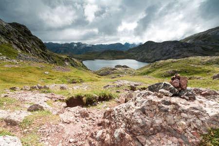 Acherito lake, in Echo
