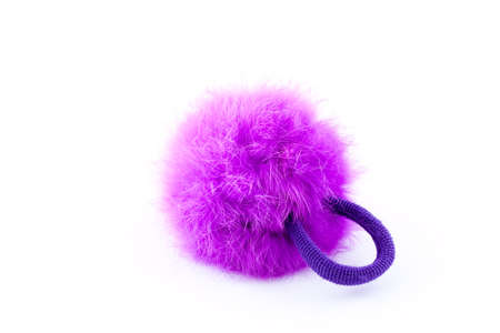 A furry pink scrunchie Stock Photo - 14994009