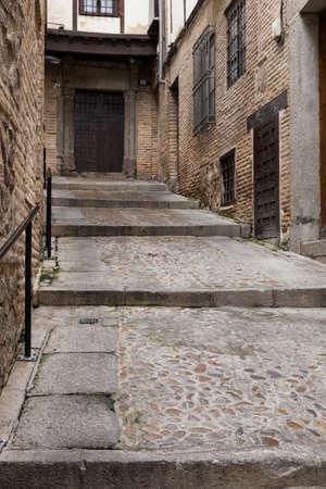 Narrow street in the city of Toledo, Spain Stock Photo - 20407454