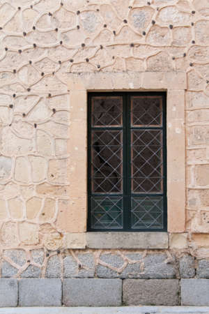 Window of an old house photo