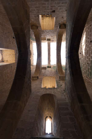 The castle of Luna in Aragon, Spain