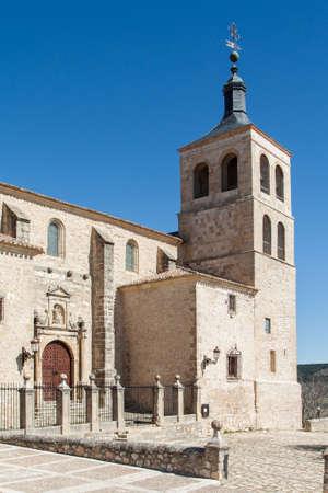 Church of Santa Mar�a in Cogolludo, Spain Editorial