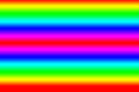 Rainbow colors, suitable for use as a graphic resource
