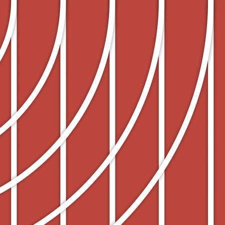 background - running track lines and curves material design illustration