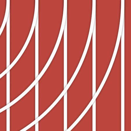 fondo - corriendo líneas curvas de la pista y la ilustración diseño de materiales