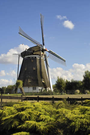 Windmill facing south Stock Photo