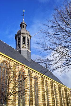 A reformist church in Alkmaar, Holland photo