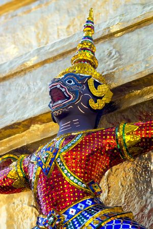A guardian devil in Grand Palace in Bangkok Stock Photo - 5792879