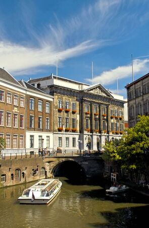 Town Hall in Utrecht, Holland on a summers day