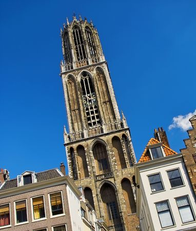 Dom cathederal in Utrecht, Holland Stock Photo