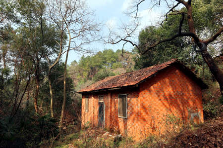 In the woods stood a house which had not yet been built
