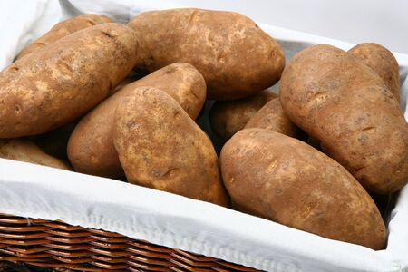 russet: Basket of Jumbo Russet or Baking Potatoes
