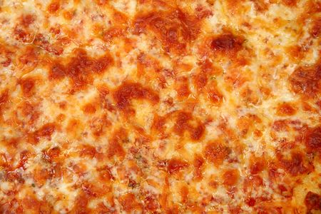 Close up of Cheese Bread Pizza Texture.