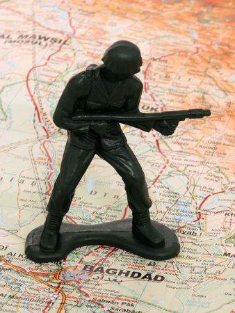 exersice: Toy Soldier Stock Photo