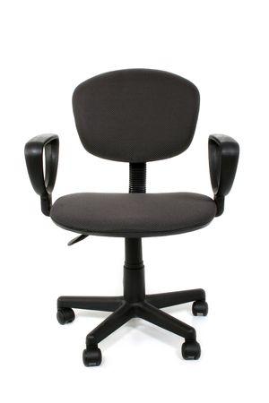 Basic rolling office chair over white. 版權商用圖片