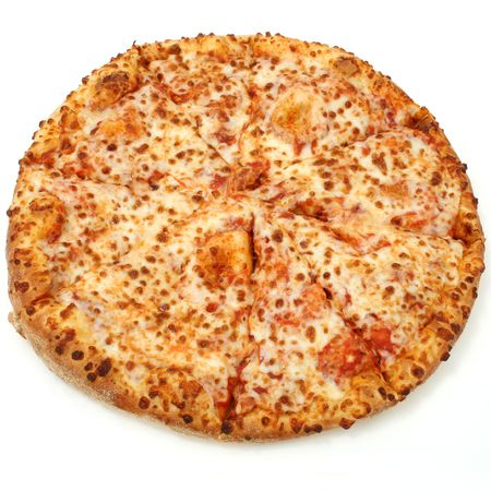 melted cheese: High Resolution cheese pizza with good DOF.