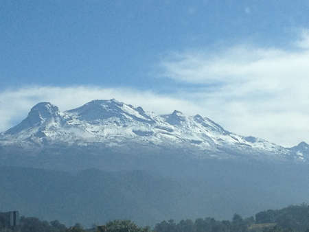The Iztacc huatl, Third Mountain to highest of I, Mexico