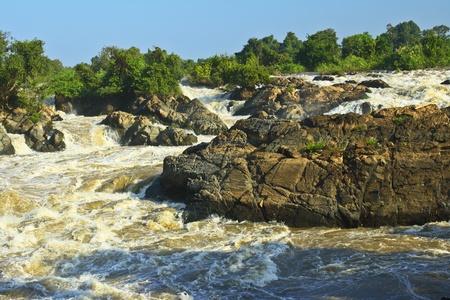 swiftly:  Waterfall in Laos