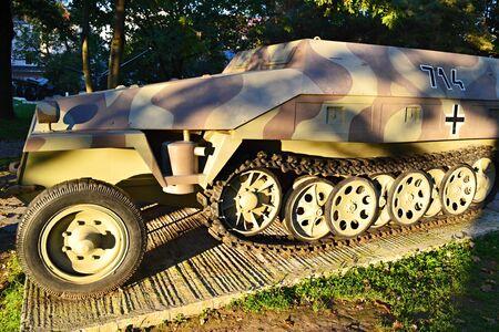 Panzer  Slovakia Banska Bystrica 28 September 2014 Military Memorial sentiment of World War 2 Editorial