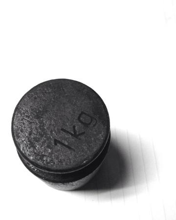 kilogram: Old kilogram weight