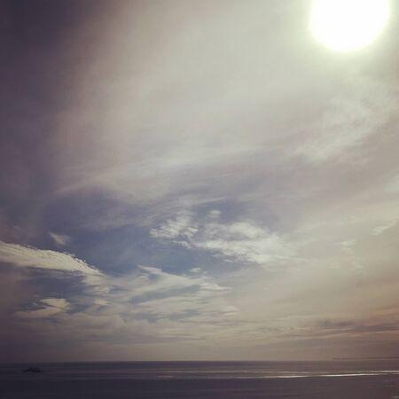 breaking: Sun breaking through clouds