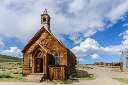 californian: Bodie, on the border of California and Nevada, is one of the best preserved Ghost Towns in the United States. It was founded during the Californian Goldrush and was inhabited until the 1970s.
