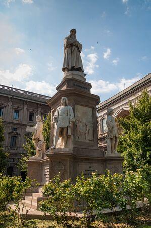 Monument of Leonardo Da Vinci