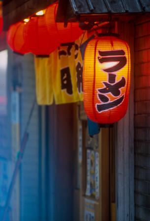 Japanese Lantern in the Evening Light