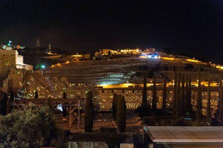 Jerusalem, Israel. June 5 2013. Impression of the Old Temple Wall, plus Exavations in Old Jerusalem Редакционное