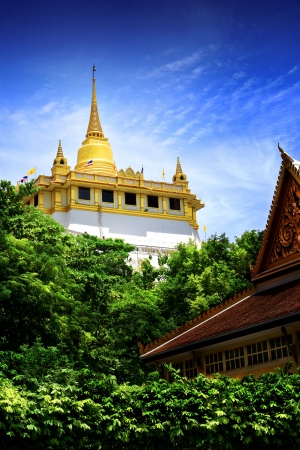 Golden Mount and Wat Saket,Thailand