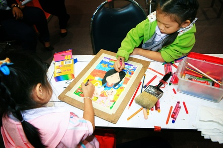 The drawing competition for students.