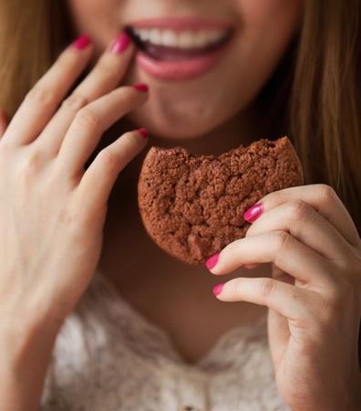 Eat cookies photo