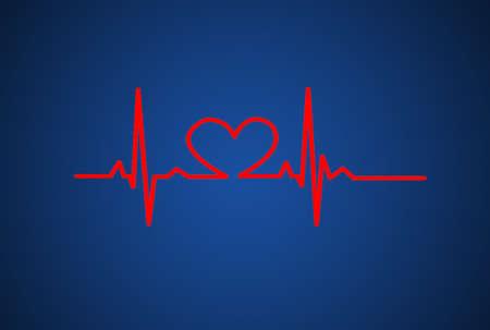 Drawing symbols heart health Stock Photo - 22931959