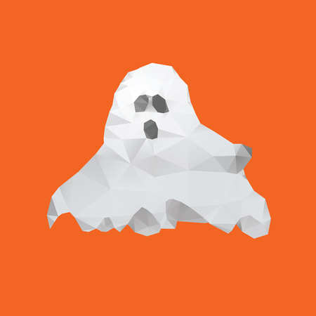 Ghost of triangles Vector