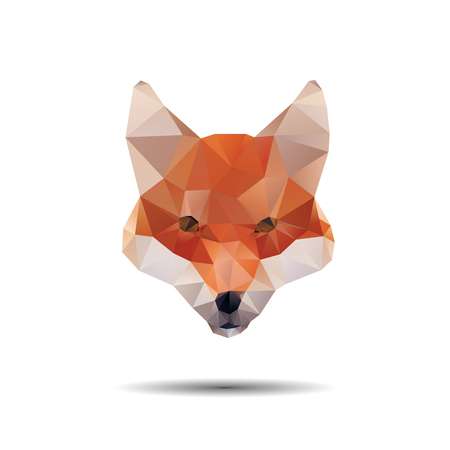 sly: Find Similar Images Fox abstract isolated on a white backgrounds
