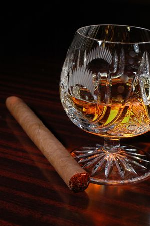 distilled: whiskey and cigar