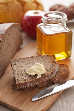 Healthy breakfast on the table close up Stock Photo - 12949365