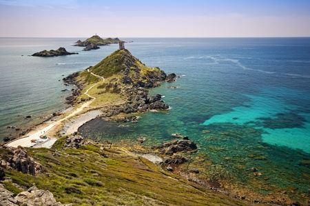 The sanguinaires islands in Corsica - France