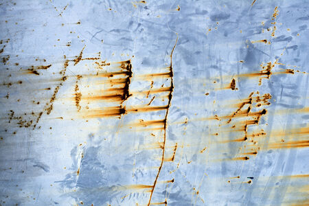 oxidize: Blue abstract Rusted Texture background close up Stock Photo