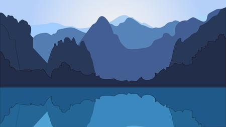 ridge: the mountains